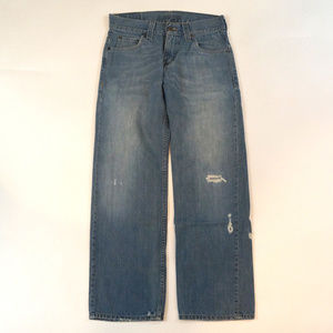 Levi's 549 Low Loose 29 X 30 Distressed Bleached